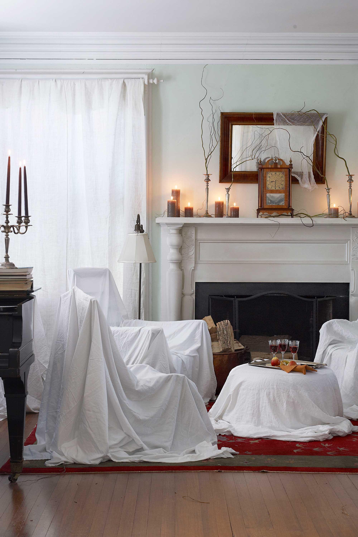 Living Room Furnishing Prepossessing 40 Easy Diy Halloween Decorations  Homemade Do It Yourself Inspiration Design