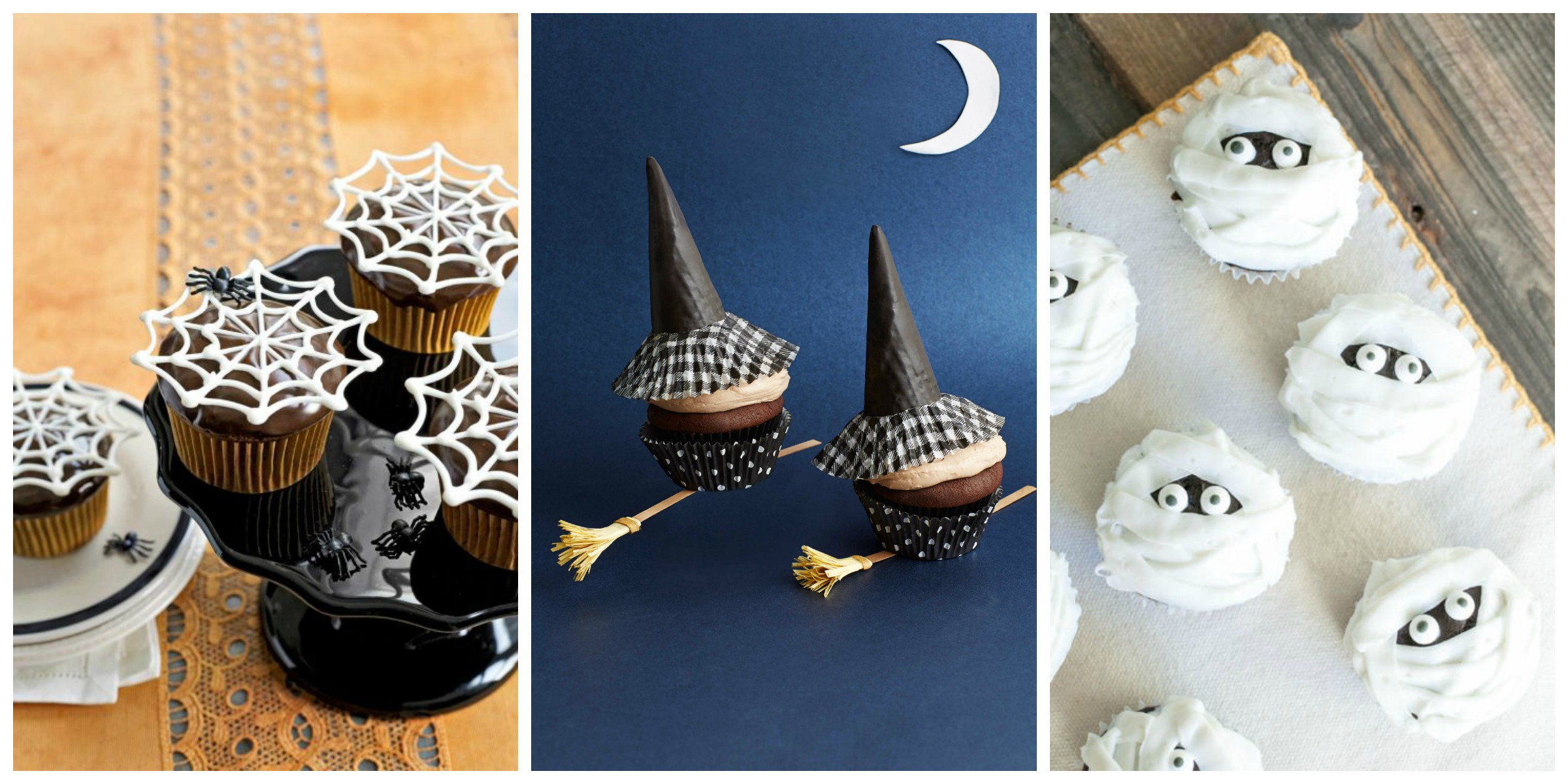 30 halloween cupcake ideas easy recipes for cute Cute easy halloween cakes