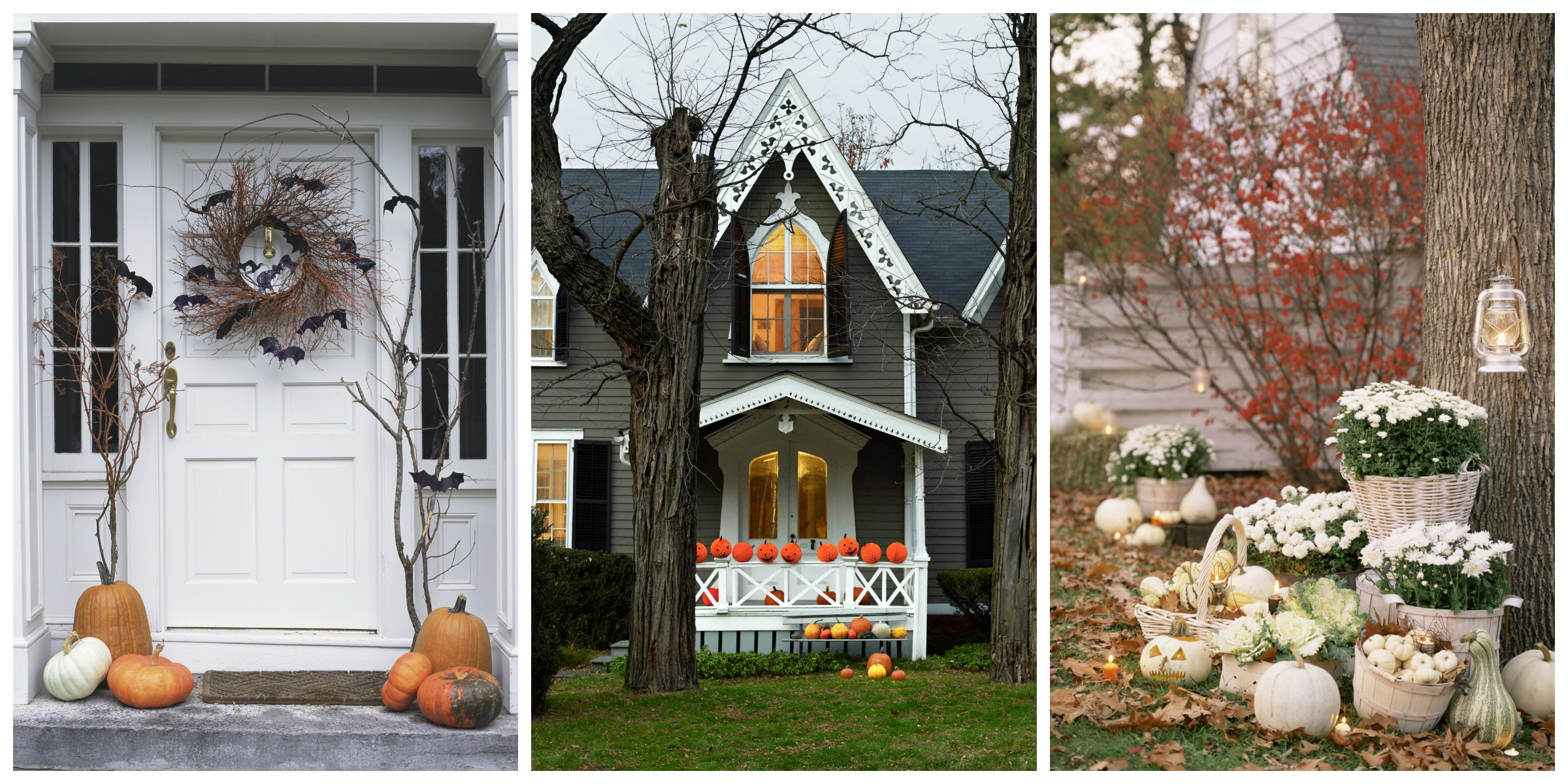 30 best outdoor halloween decoration ideas easy for 90 cool outdoor halloween decorating ideas