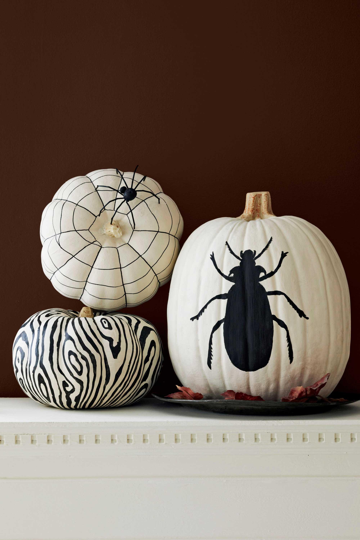 Halloween Painted Pumpkins Part - 15: 88 Cool Pumpkin Decorating Ideas - Easy Halloween Pumpkin Decorations And  Crafts 2017
