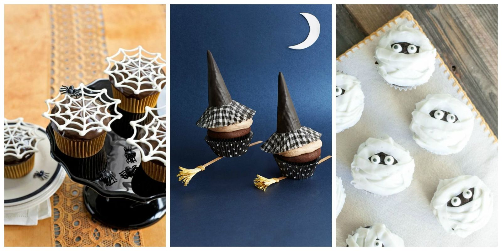 30 halloween cupcake ideas easy recipes for cute halloween cupcakes - Simple Halloween Cake Decorating Ideas