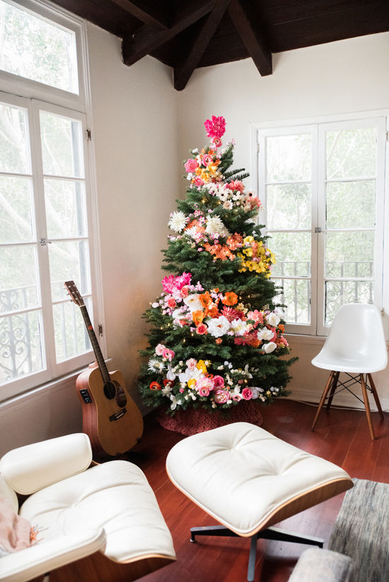 Decorating A Real Christmas Tree