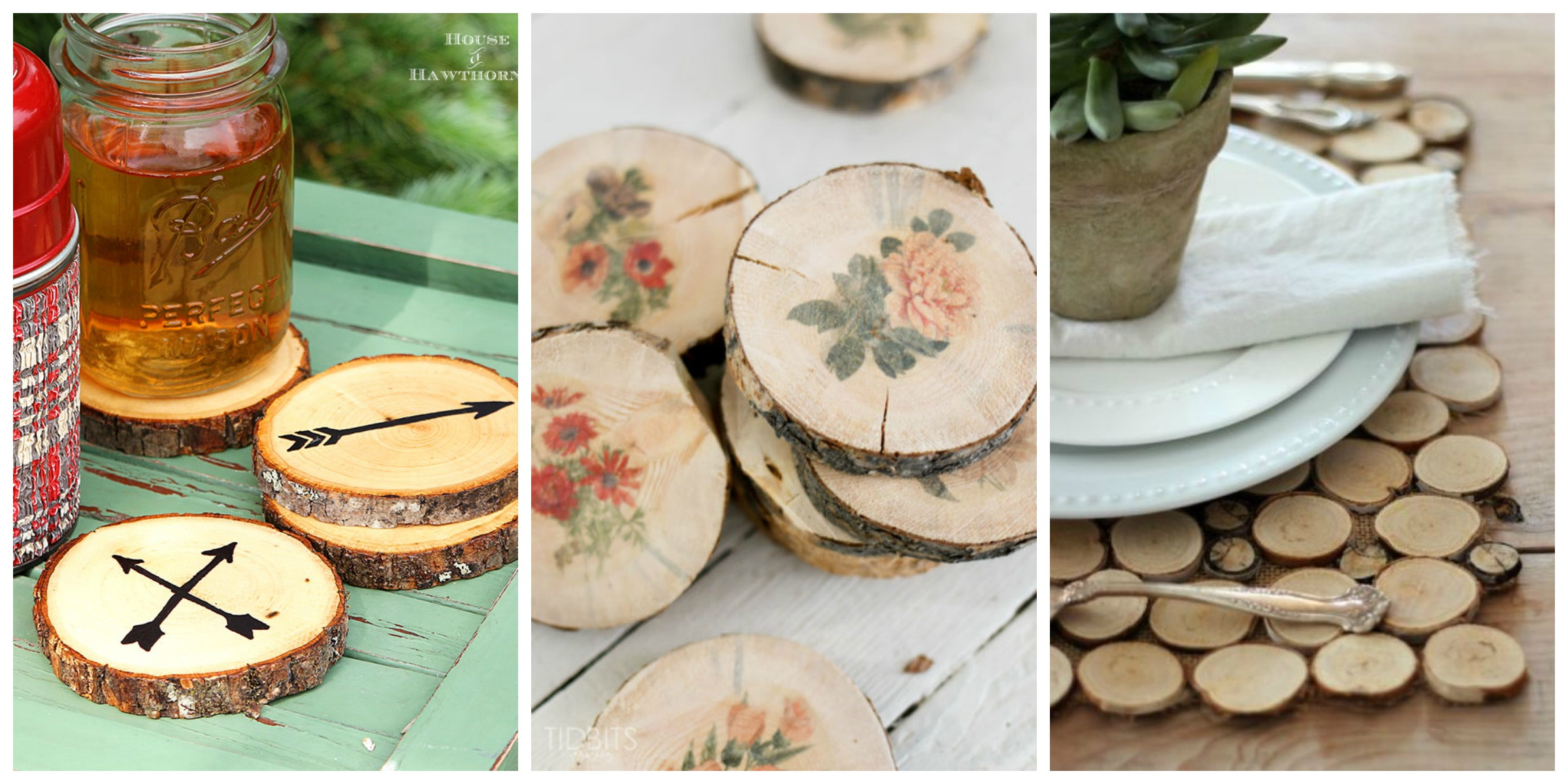 20 easy wood slice crafts diy wood slice project ideas for Wood slice craft projects