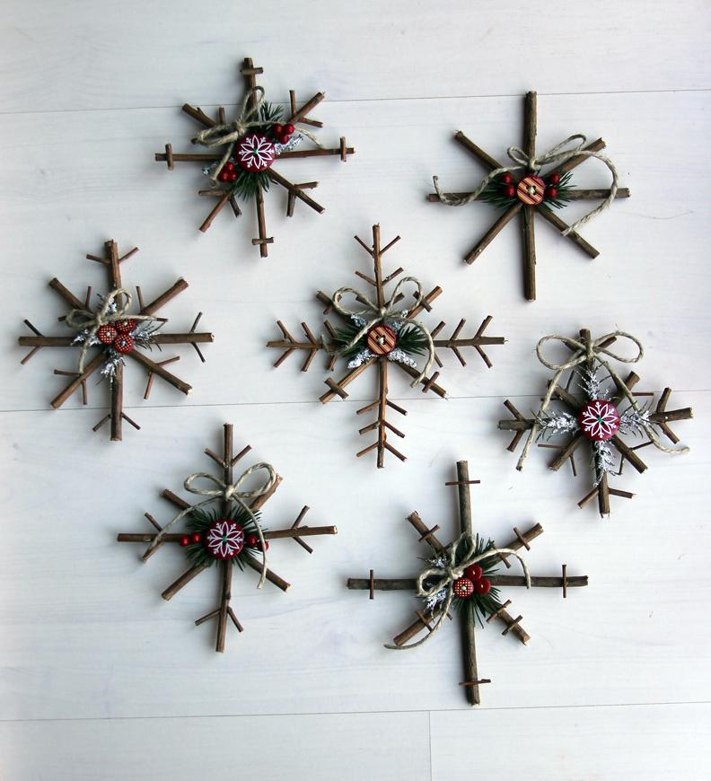 50+ Homemade Christmas Ornaments - DIY Crafts with Christmas Tree ...
