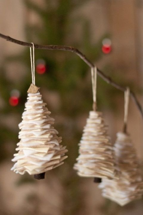 Swell 50 Homemade Christmas Ornaments Diy Crafts With Christmas Tree Easy Diy Christmas Decorations Tissureus
