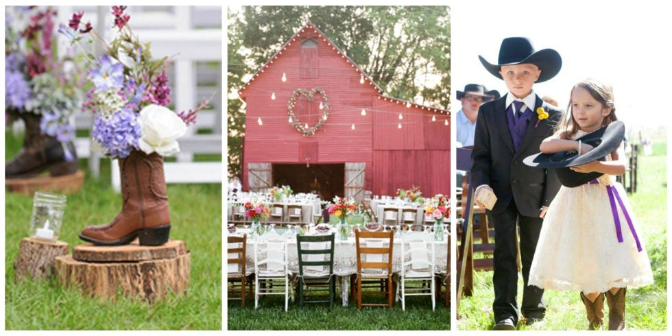 20 Photos That Will Inspire You To Have A Country Wedding