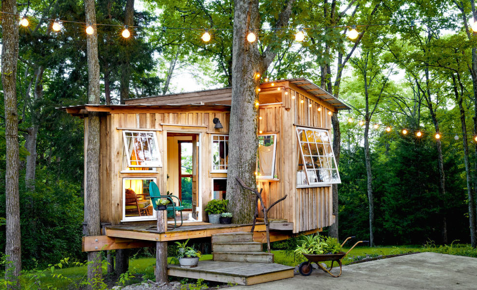 Kids Treehouse Inside nashville treehouse - nashville tiny house