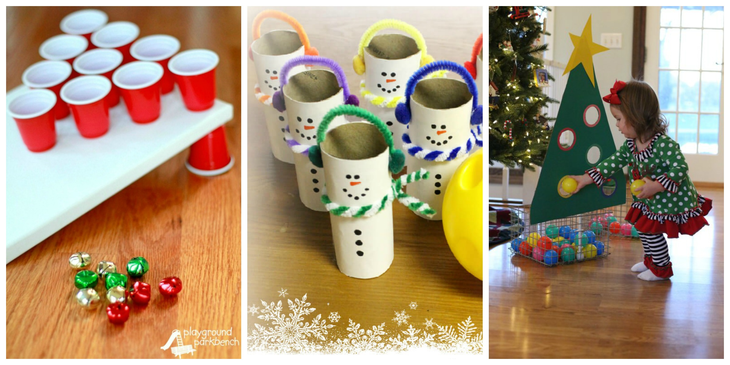 22 fun christmas games activities for kids holiday for Christmas craft table decorations