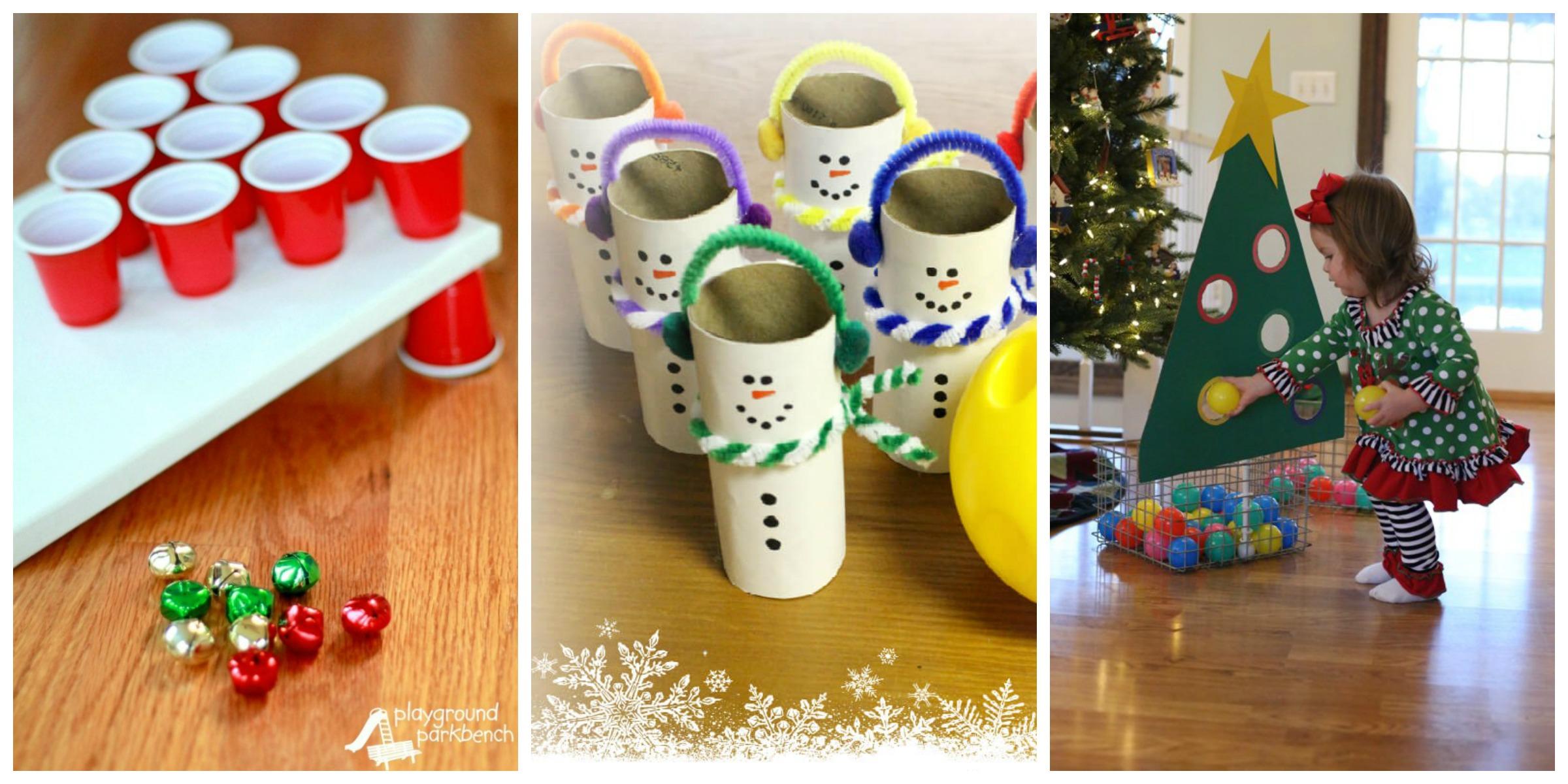 adult christmas gift games