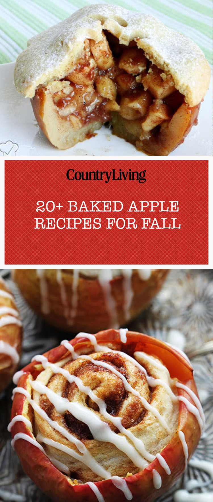 23 Fall Baked Apple Recipes Easy