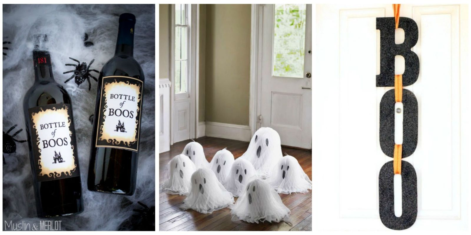 40 easy diy halloween decorations homemade do it yourself halloween decor ideas. Black Bedroom Furniture Sets. Home Design Ideas