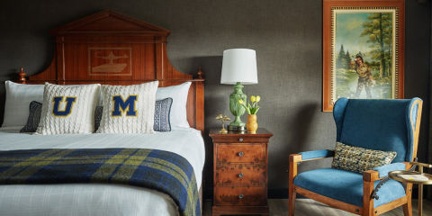 19 Design Takeaways From Small College Town Hotels Graduate Hotels Vintage Design Inspiration
