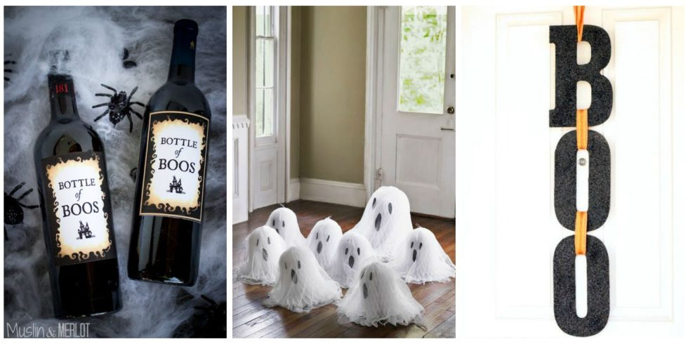 49 photos - Halloween Decoration Crafts
