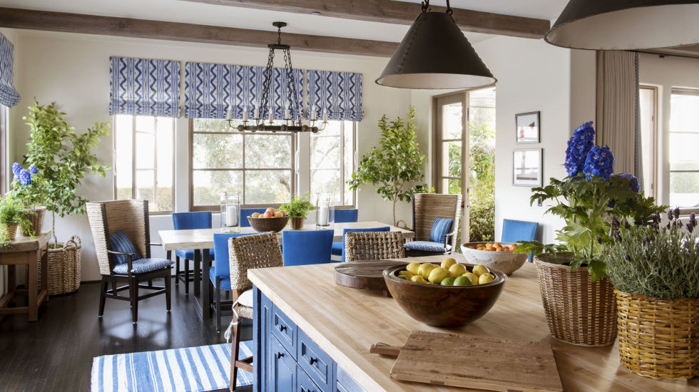 blue and white living rooms. Layer on the Texture Blue and White Rooms  Decorating with