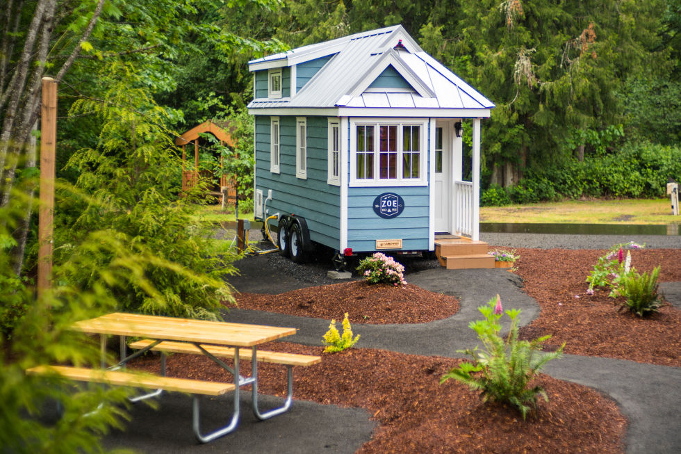 Fantastic Mt Hood Tiny House Village Tour Oregon Tiny House Rentals Largest Home Design Picture Inspirations Pitcheantrous