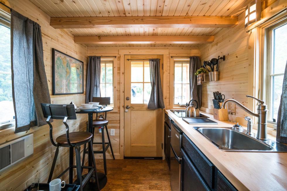 Atticus Interior Tiny House Tours