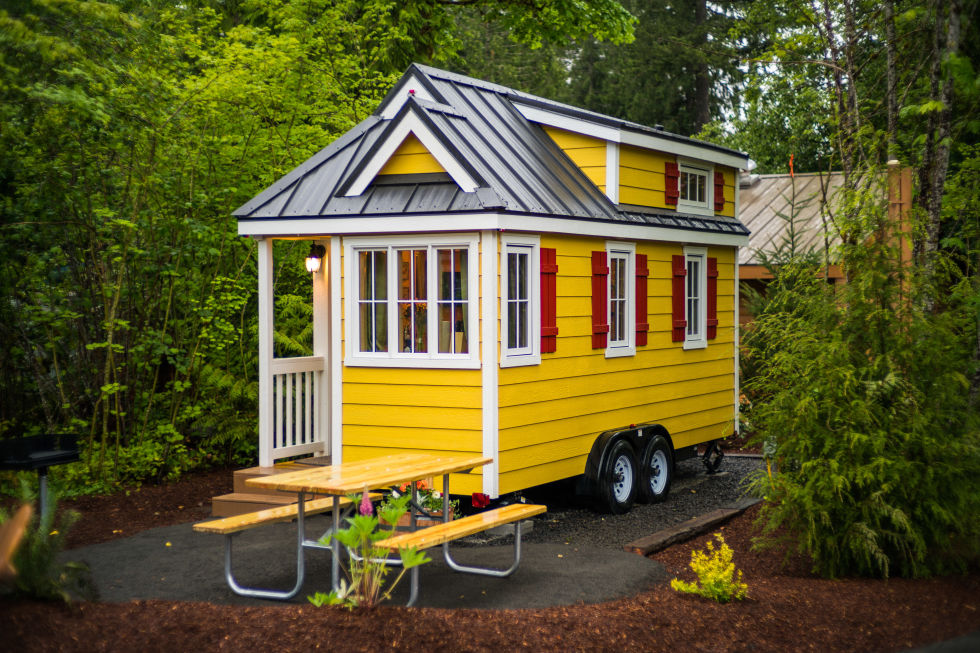 Mt Hood Tiny House Village Tour Oregon Tiny House Rentals