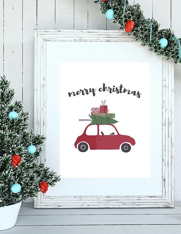 25 free christmas printables christmas cards and gift tags to print - Holiday Printables Free