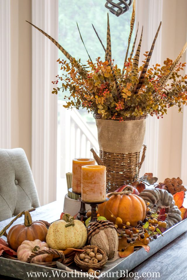 Fall Decorating Ideas Beauteous 37 Fall Table Centerpieces  Autumn Centerpiece Ideas Inspiration Design