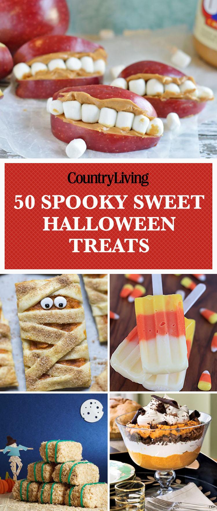50 homemade halloween treats easy halloween dessert recipes - Spooky Food For Halloween