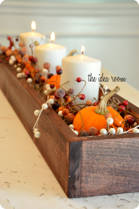 35 fall table centerpieces autumn centerpiece ideas for Pictures of fall table decorations