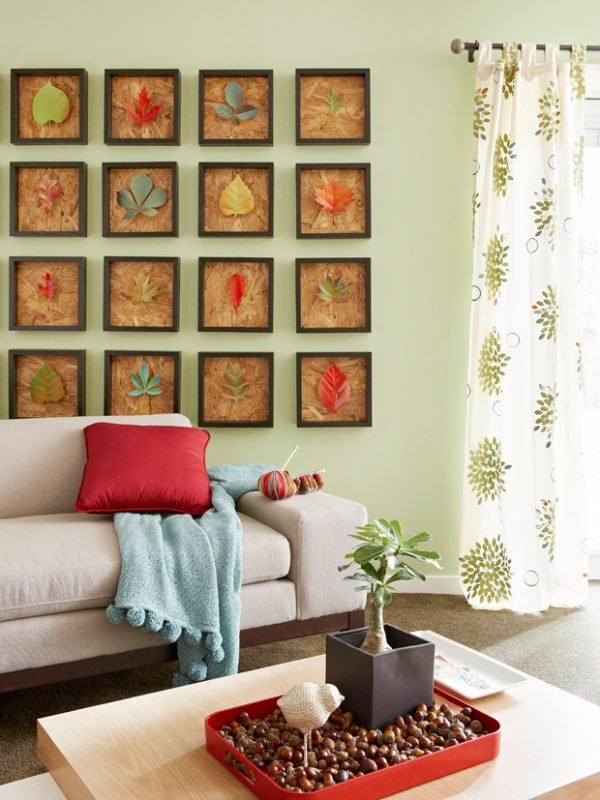 30 Fall Leaf Crafts - DIY Decorating Projects with Leaves