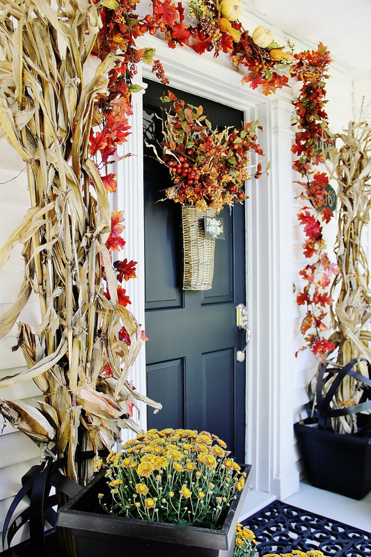 18 Fall Door Decorations - Ideas for Decorating Your Front Door for Autumn & 18 Fall Door Decorations - Ideas for Decorating Your Front Door ... Pezcame.Com