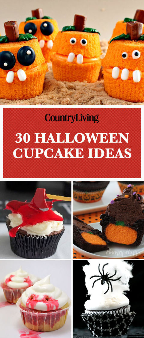 pin this image - Cupcake Decorations For Halloween
