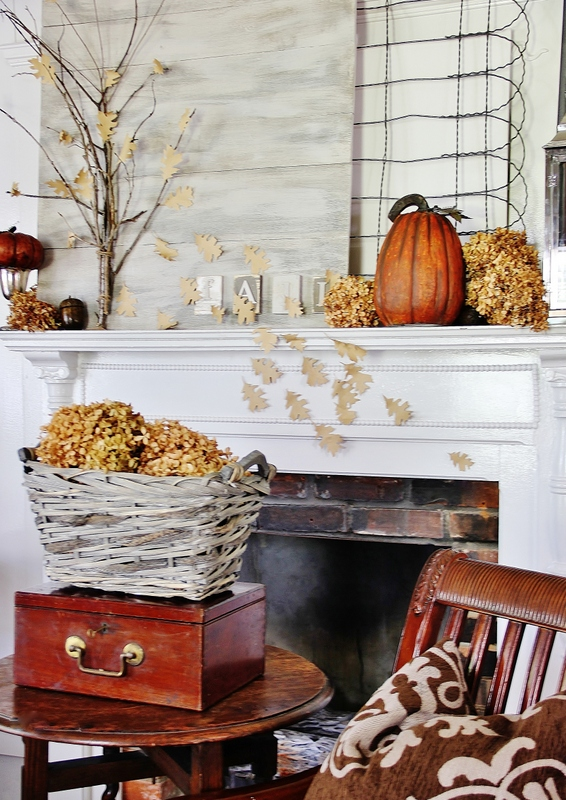 30 Fall Porch Decorating Ideas Top 10 Pro Decorating Tips: 35 Fall Mantel Decorating Ideas