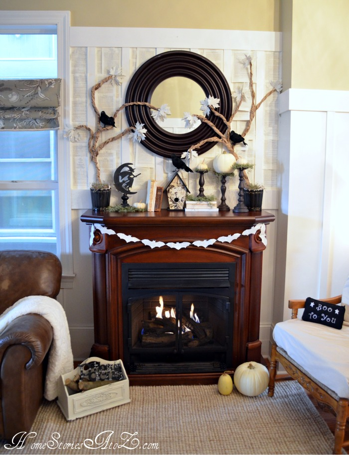 31 Fall Mantel Decorating Ideas Halloween Mantel Decorations – Ideas for Mantel Decor
