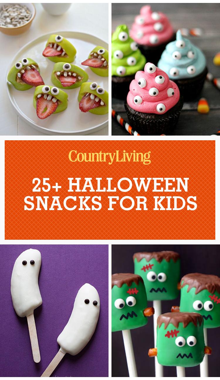 31 halloween snacks for kids recipes for childrens halloween