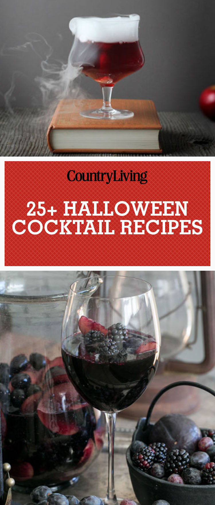 25 easy halloween cocktails drinks best recipes for for Easy alcoholic punch recipes for halloween