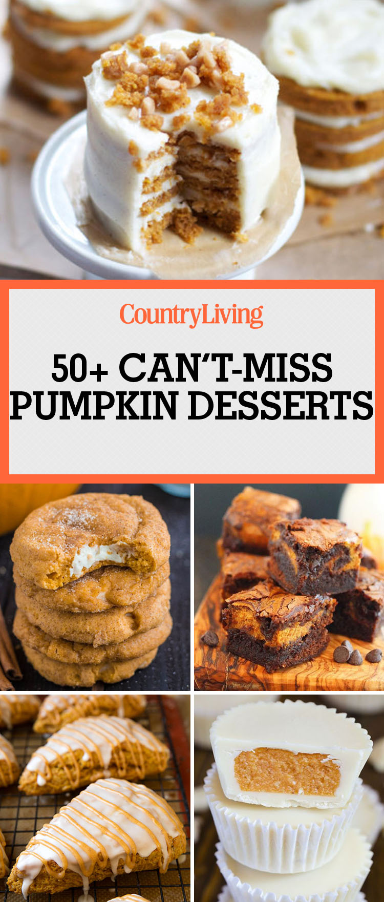 55 Easy Pumpkin Dessert Recipes