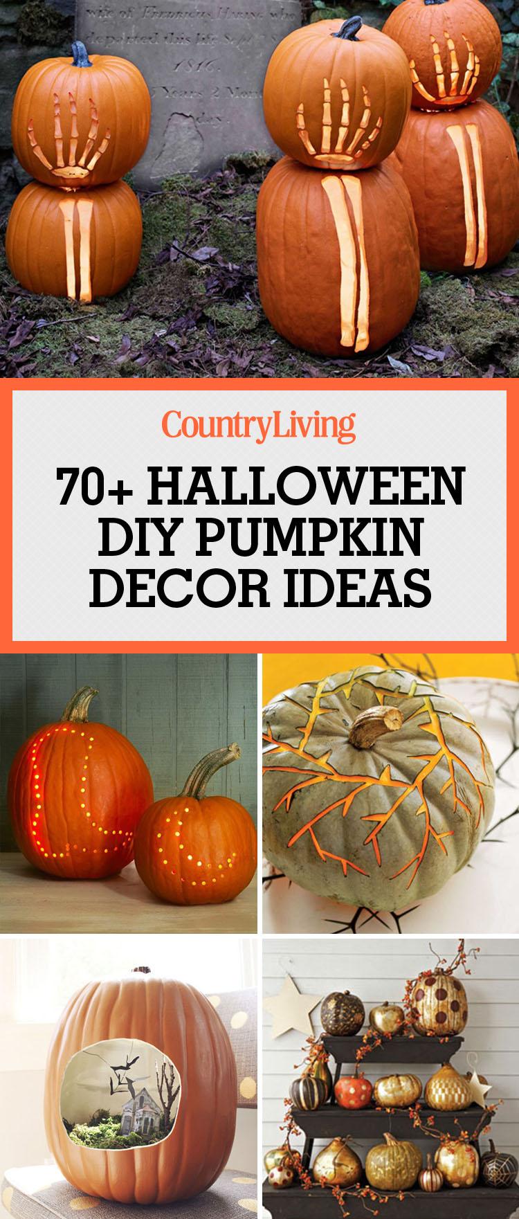 83 Cool Pumpkin Decorating Ideas Easy Halloween Pumpkin