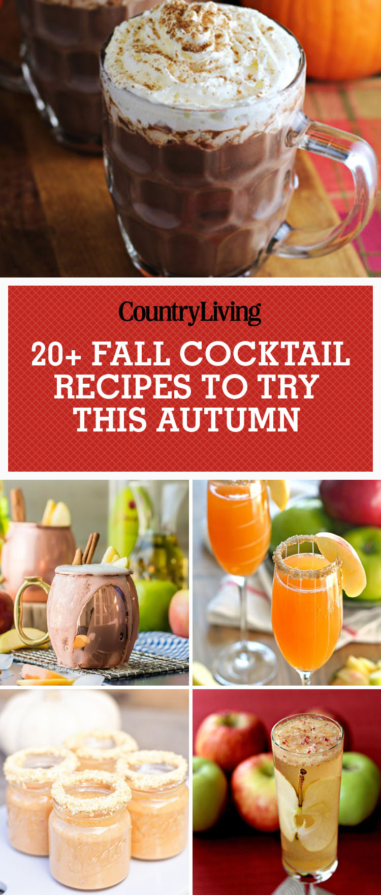 25 best fall cocktails drink recipes perfect for autumn for Fall cocktail ideas