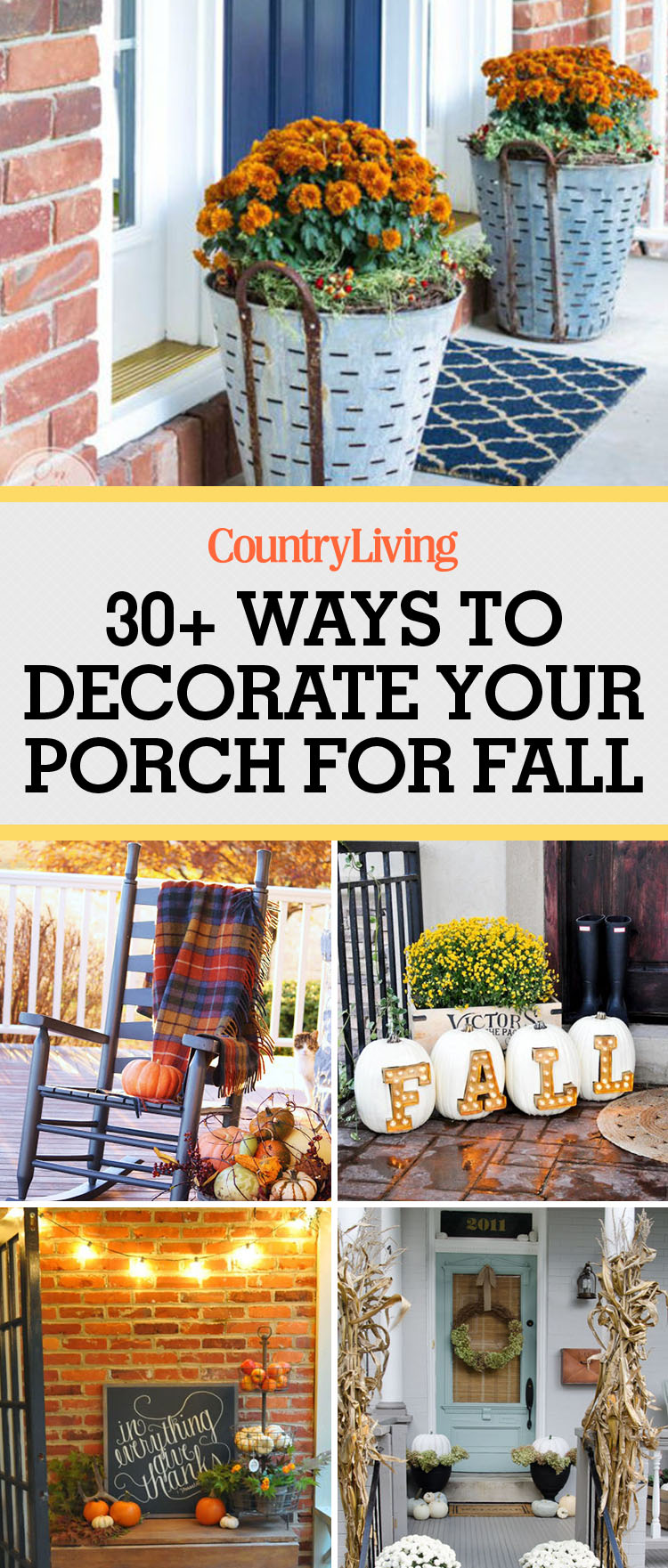 37 Fall Porch Decorating Ideas Ways To Decorate Your