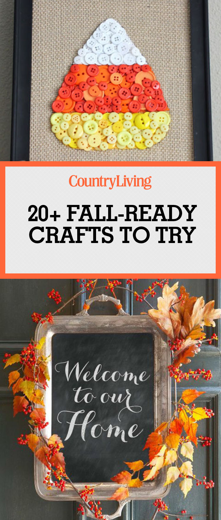 25 best fall crafts easy diy home decor ideas for fall for Easy diy fall crafts