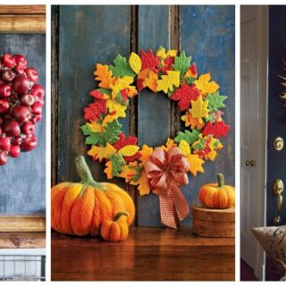 your front door is about to get a whole lot prettier - Home Decor Crafts