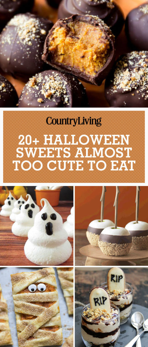 pin this image - Dessert Halloween