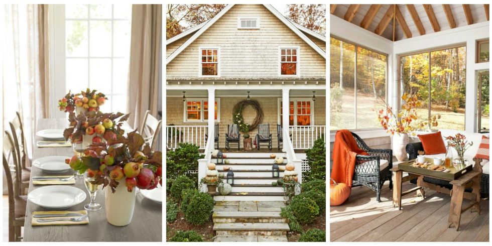 47 cozy ways to decorate your home for fall - Fall House Decorations