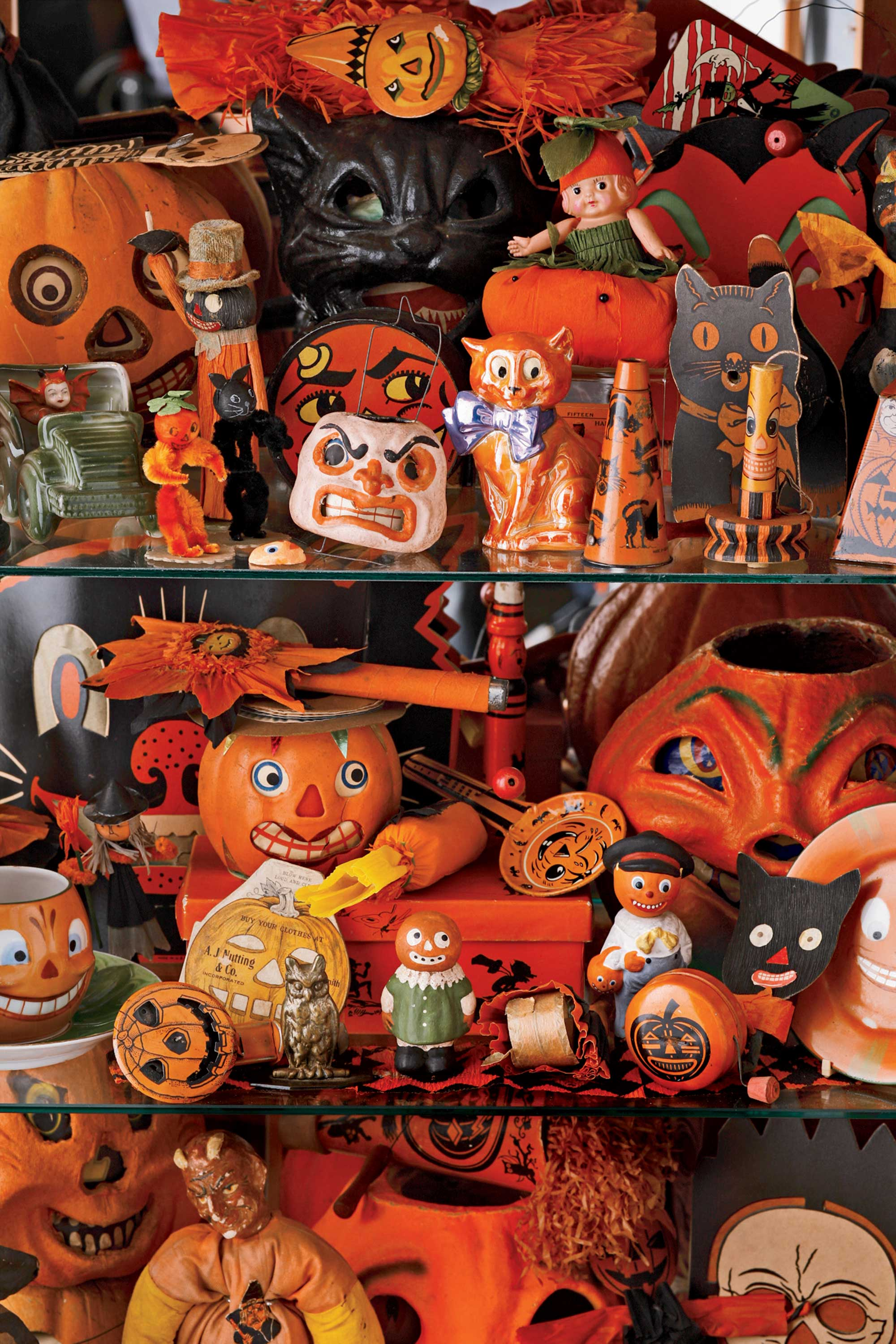 vintage halloween what halloween was like the year you were born - Antique Halloween Decorations