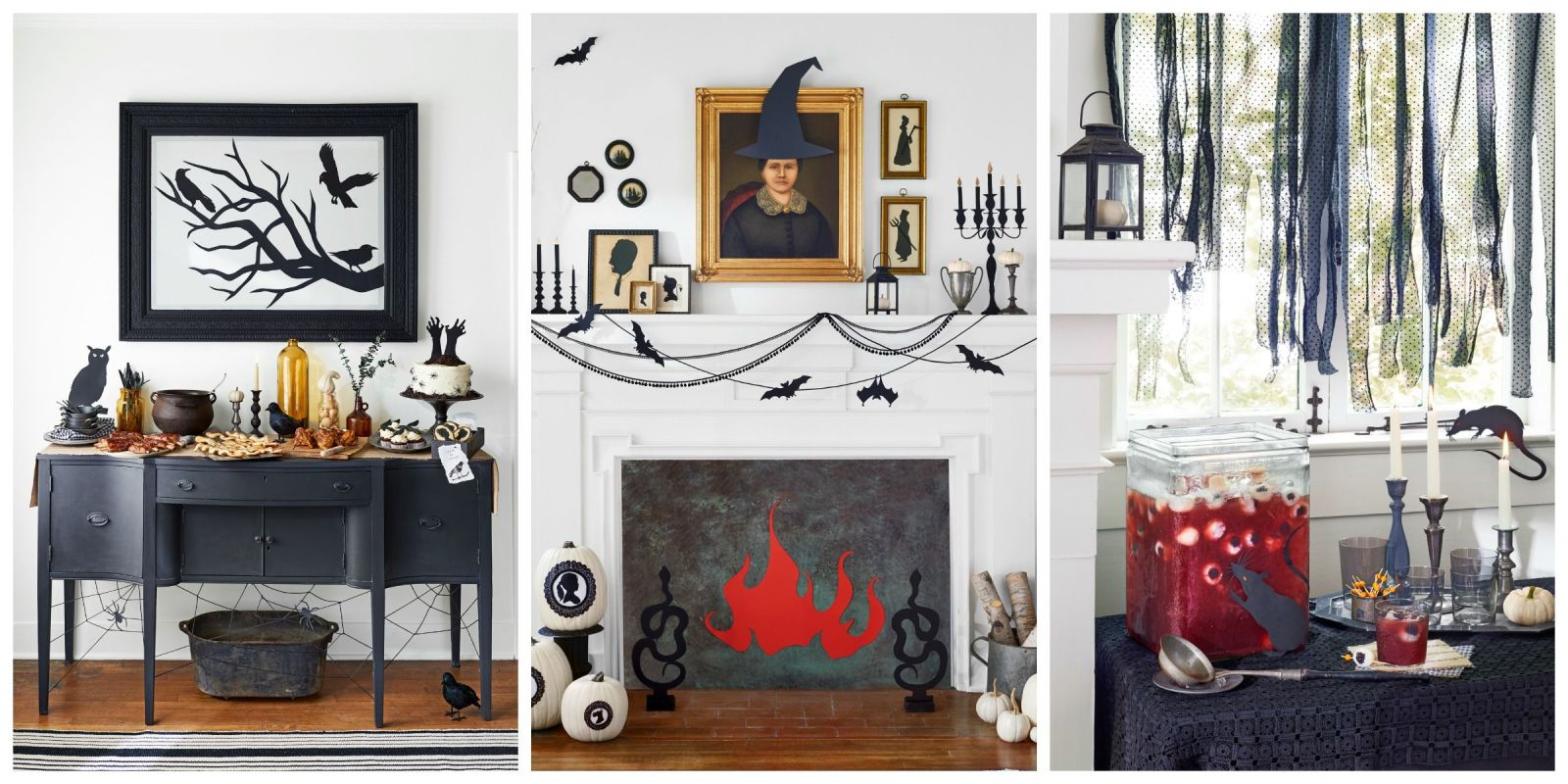 56 fun halloween party decorating ideas spooky halloween party decor - Halloween Theme Party Ideas