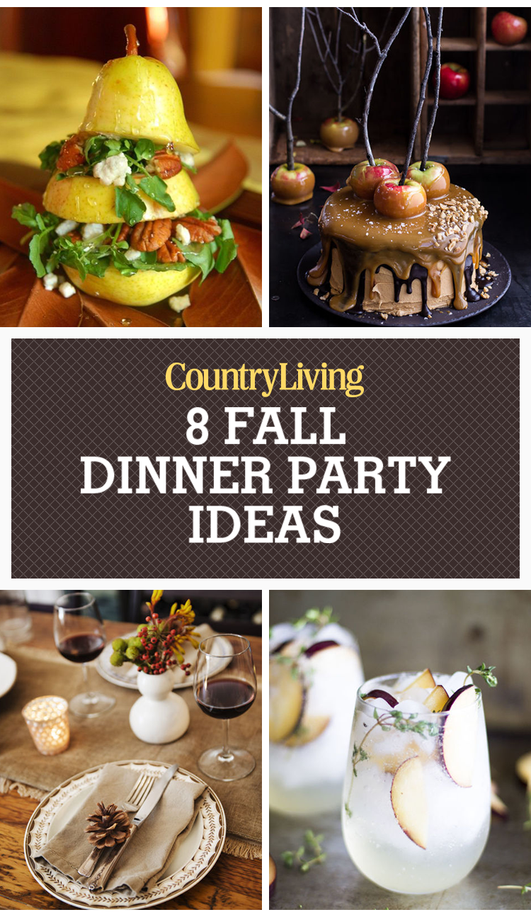 dinner ideas for party of 8