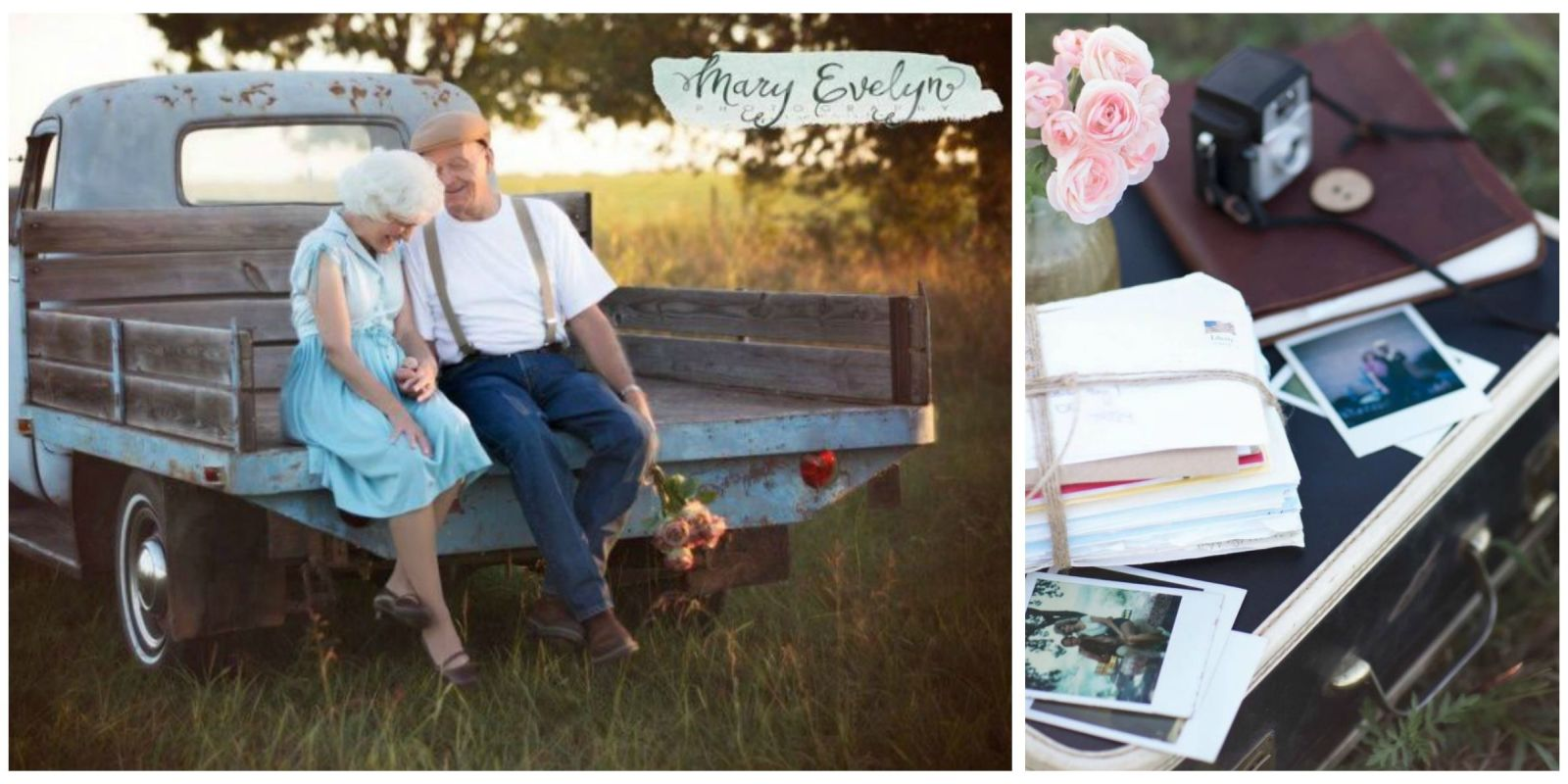 couple celebrates 57th anniversary with photo shoot inspired by