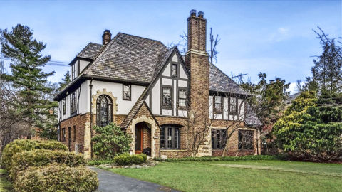 7 tudor revival homes for sale american tudor revival for Outer look of house design