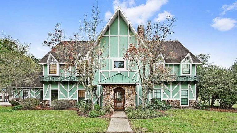 Modern Tudor Homes 7 tudor revival homes for sale - american tudor revival style homes