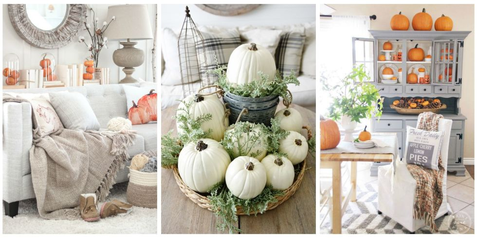 ways to decorate your home with pumpkins pumpkin crafts and decor - Decorate Pictures