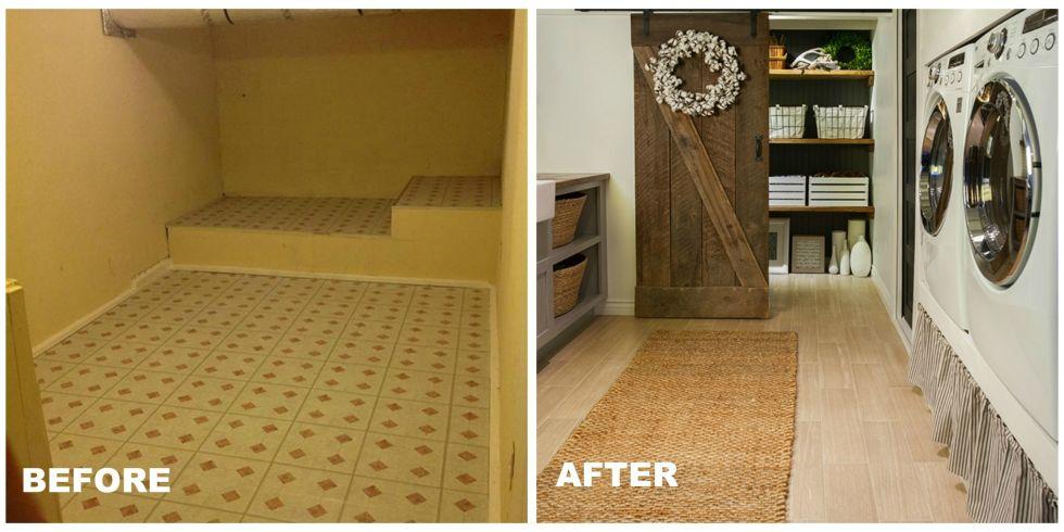Room Makeover Ideas laundry room makeover ideas - farmhouse decorating ideas
