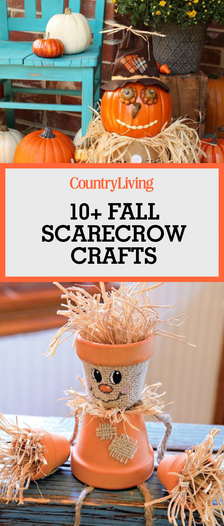 Scarecrow crafts how to make a scarecrow for Fall craft ideas for seniors