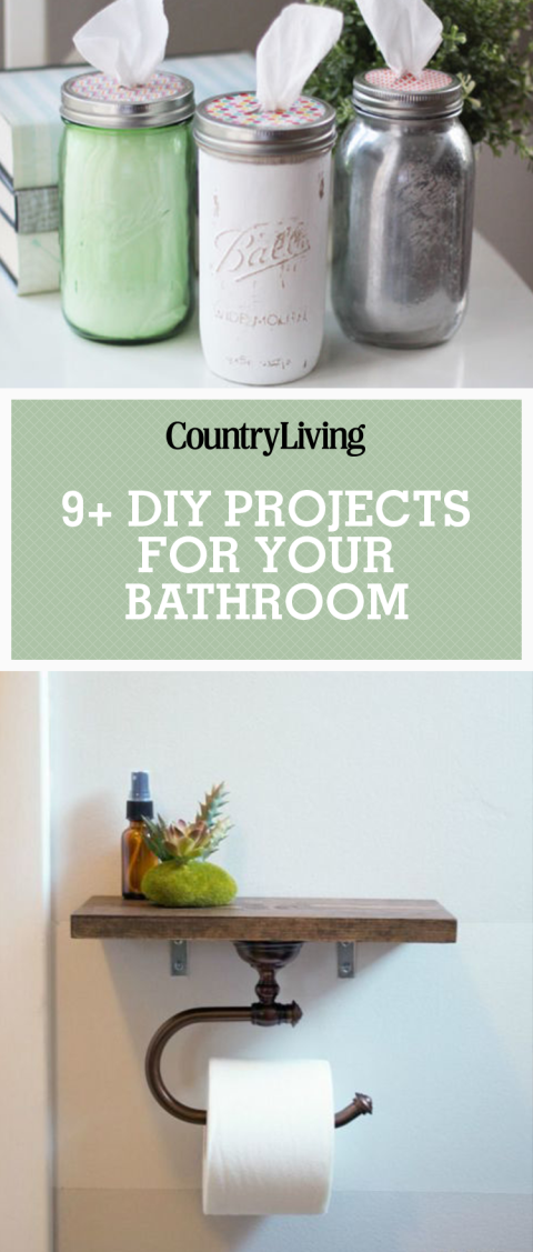 Diy Bathroom Projects diy bathroom - bathroom tricks
